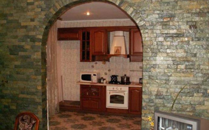 Декоративные арки в квартире: фото отделки под камень - просто и