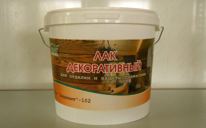 Декоративный акриловый лак Акрилит-102