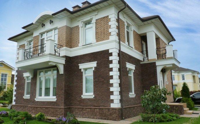 Декоративный камень для внешней отделки дома