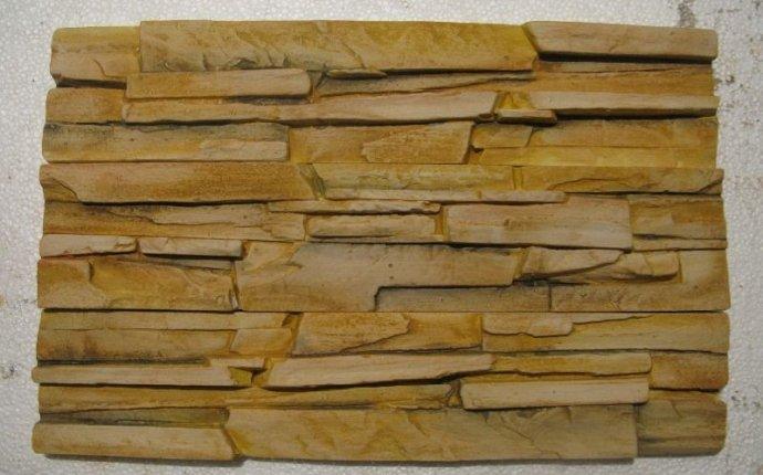 Декоративный камень из гипса фото