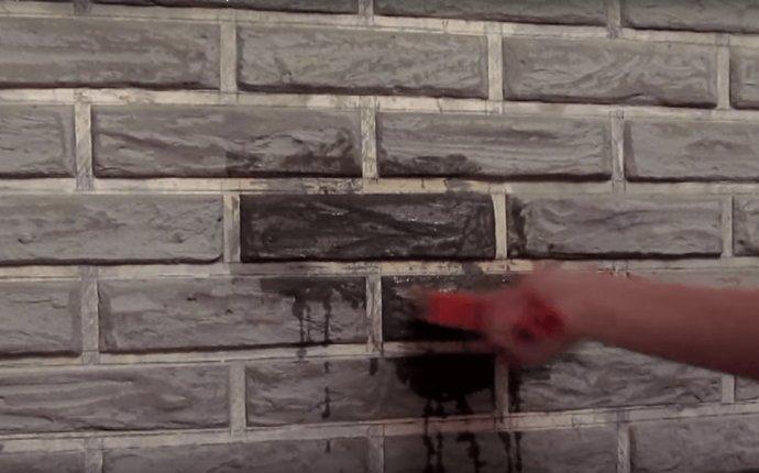 Декоративный камень из шпаклевки своими руками-Dveri-Ceny.ru