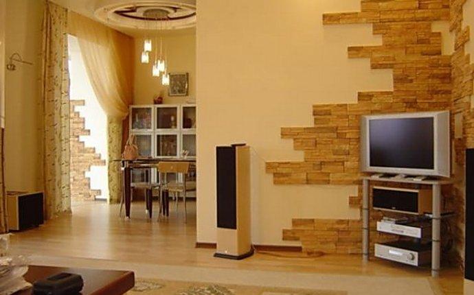 Декоративный камень в интерьере квартиры » Искусство интерьера