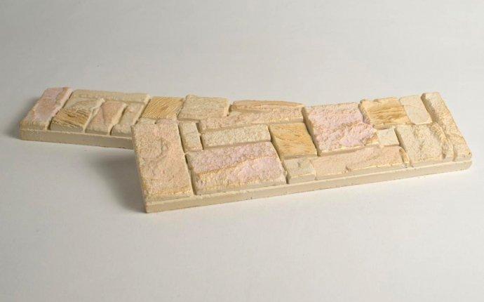 Гипсовая плитка своими руками: способы изготовления