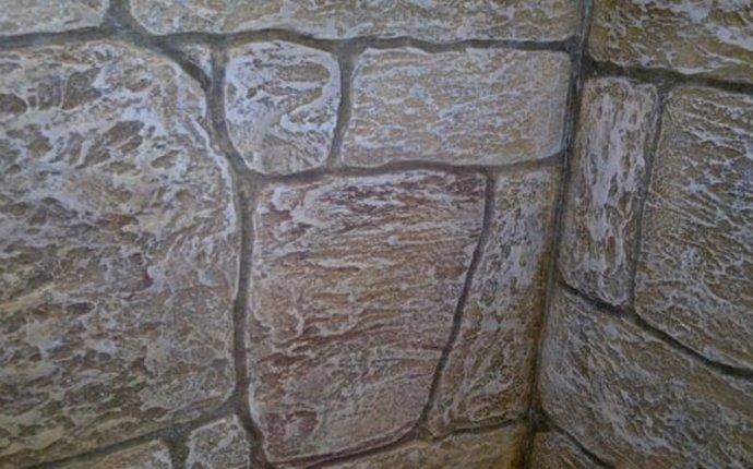 Имитация камня из штукатурки своими руками: фото и видео