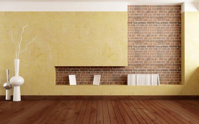 Искусственный, декоративный камень в интерьере квартиры: фото