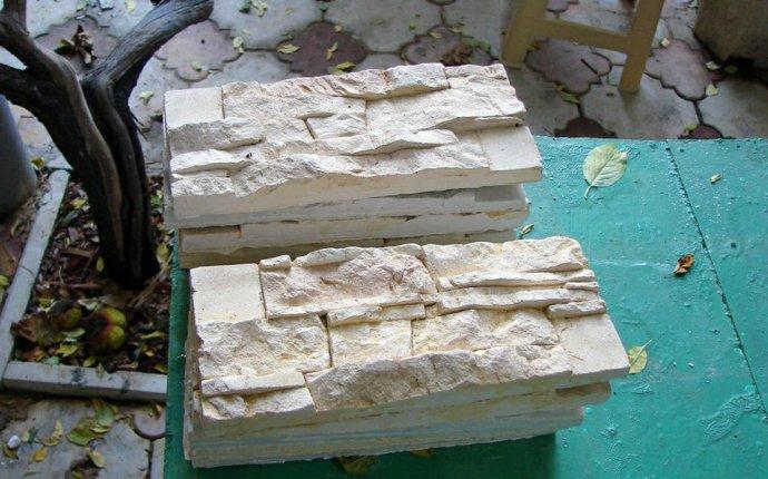 Как изготовить искусственный камень из гипса