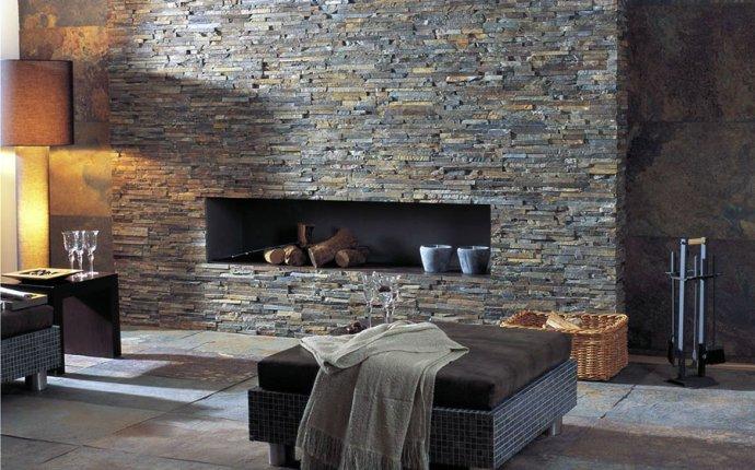 Натуральный камень в интерьере, дизайн, фото | STROYLAND.SU