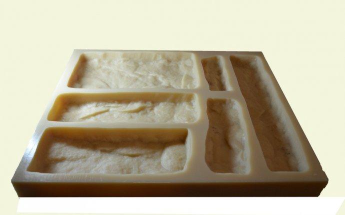 Полиуретановые формы для камня. Силиконовые формы для камня