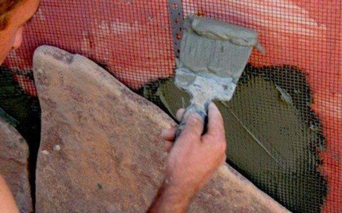 Рваный камень: фото, правила кладки | Строительный портал