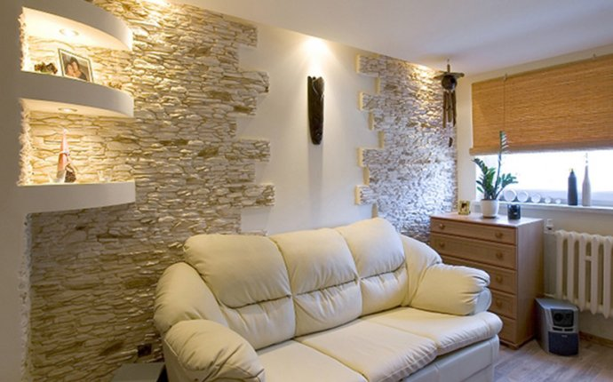 Стеновые панели под камень для внутренней отделки: характеристики